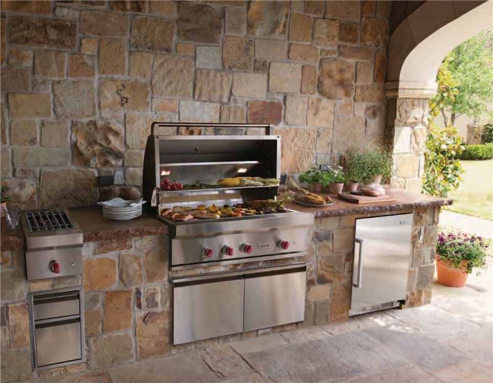 Outdoor Kitchens Helotes TX | Outdoor Kitchen Designs ...